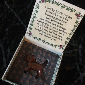 Lucky Little Puppy Token Charm
